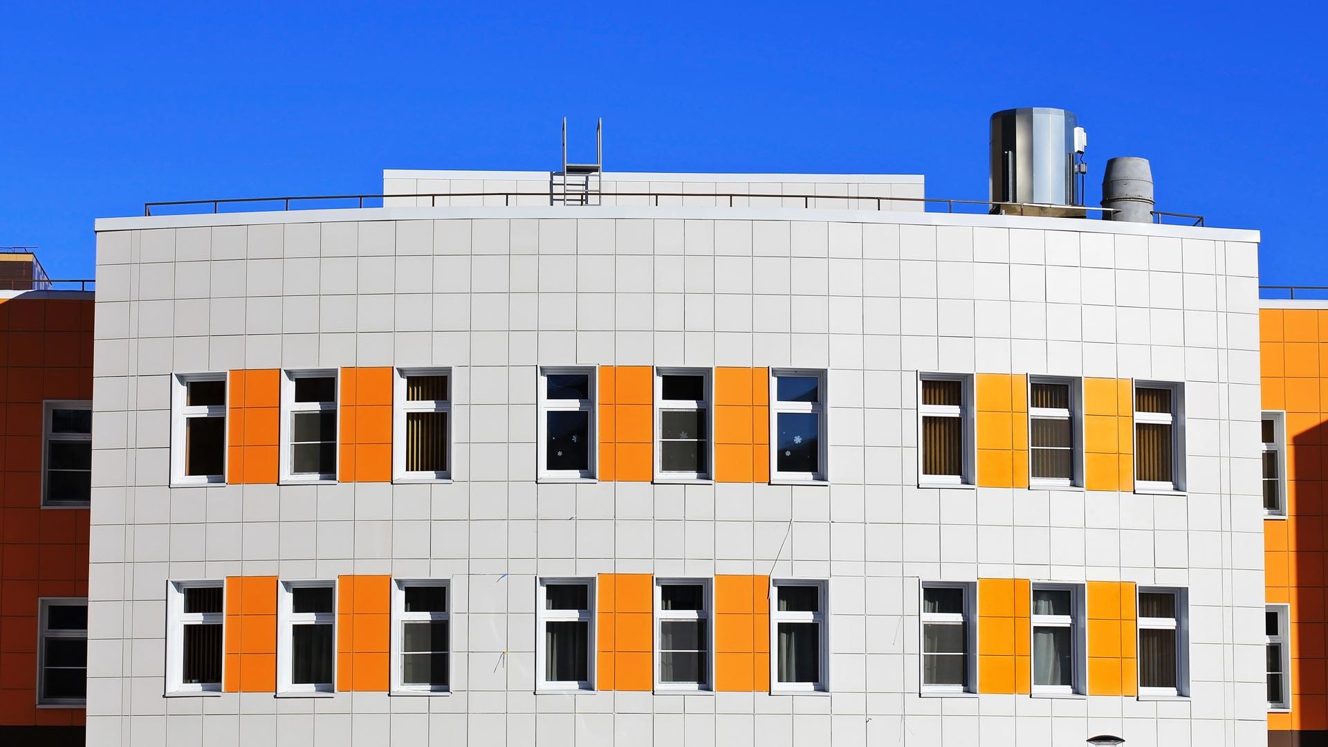 Fachada ventilada porcel nica fachadas ventiladas - Fachadas ventiladas de piedra ...